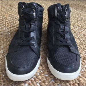 Calvin Klein Lace up casual Shoes Black